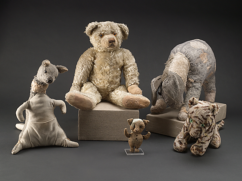 Christopher Robin's Toys [At NY Library]