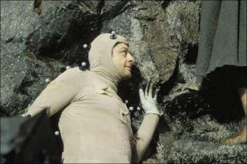 Peter Jackson Films : Actor Andy Serkis Films the Part of Gollum