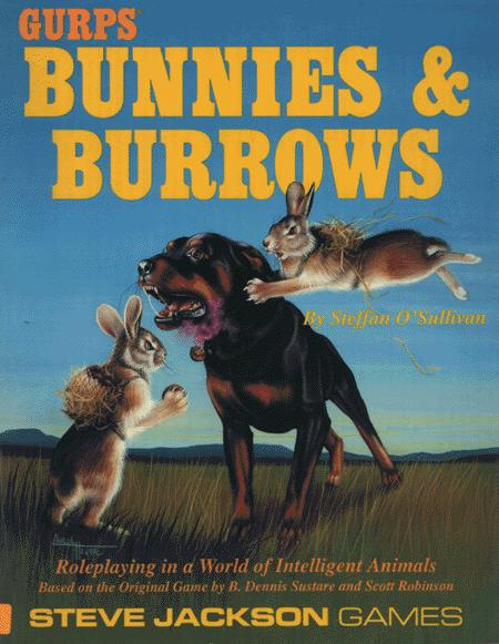 Bunnies and Burrows New Cover