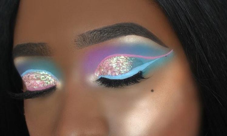 Beautiful Unicorn Makeup by Louise Keane