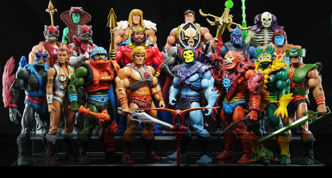 He-Man Action Figure Collection