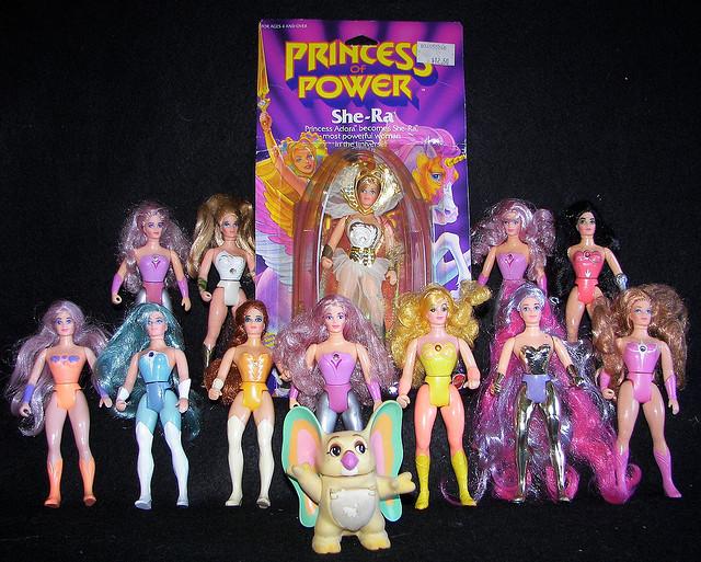 Original Princess of Power Action Figure Line Up