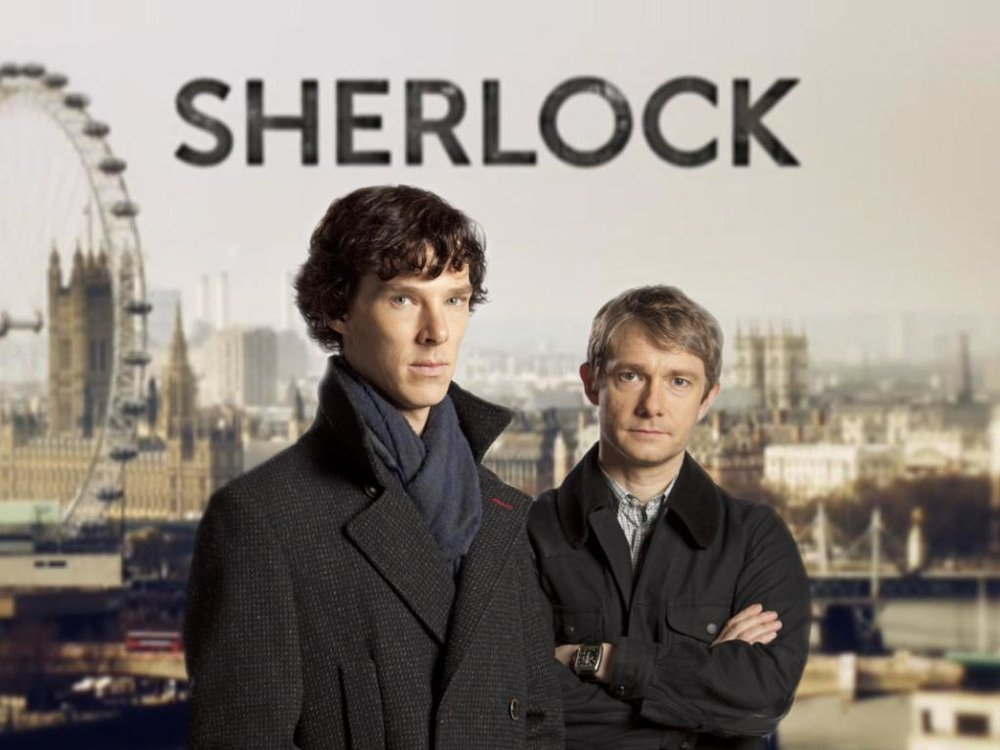 BBC's Sherlock with Cumberbatch and Freeman