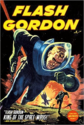 Retrofuturism in Flash Gordon comics