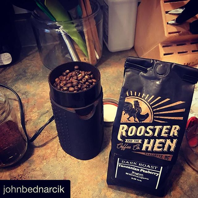 Rooster and the Hen Coffee spotting! We agree with @johnbednarcik ! Cold rainy December days in Coastal NC call for a great cup of coffee!  #Repost @johnbednarcik (@get_repost) ・・・ The way to make a cold rainy day better!  thx @jumpinjavaesp @rooandhencoffee