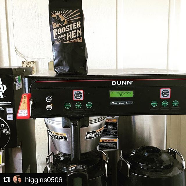 @maudescountrydelights Brunswick County's newest coffee shop and bakery is running test batches on their new coffee maker today. Be sure to follow them and stop by when they open soon!  #Repost @higgins0506 (@get_repost) ・・・ Brewed our first pot of Rooster and the Hen Coffee this morning!! Can't wait to open!! #coffee #coffeeshop #bakery #brunswickcounty #nc #farmfresh #smallbatch #buylocal #organic #rooandhencoffee #microroaster #coffeeroaster