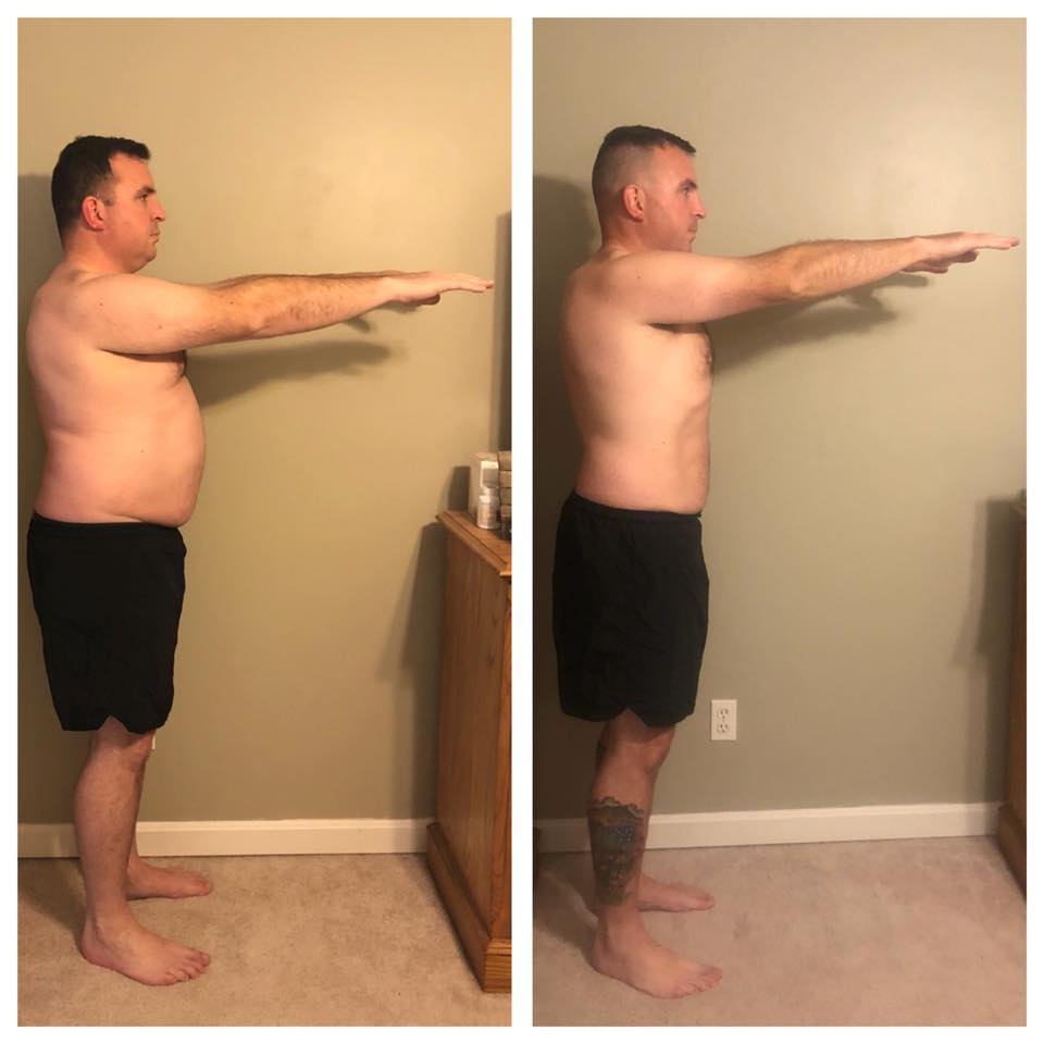 Army Soldier Jeff B. has lost over 60 pounds on the FTW Programs!*