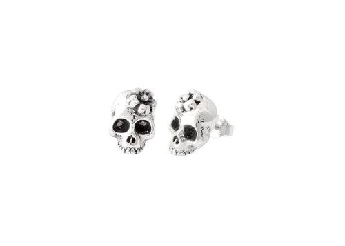 6c58d80eb Sakura skull stud earrings — Vent