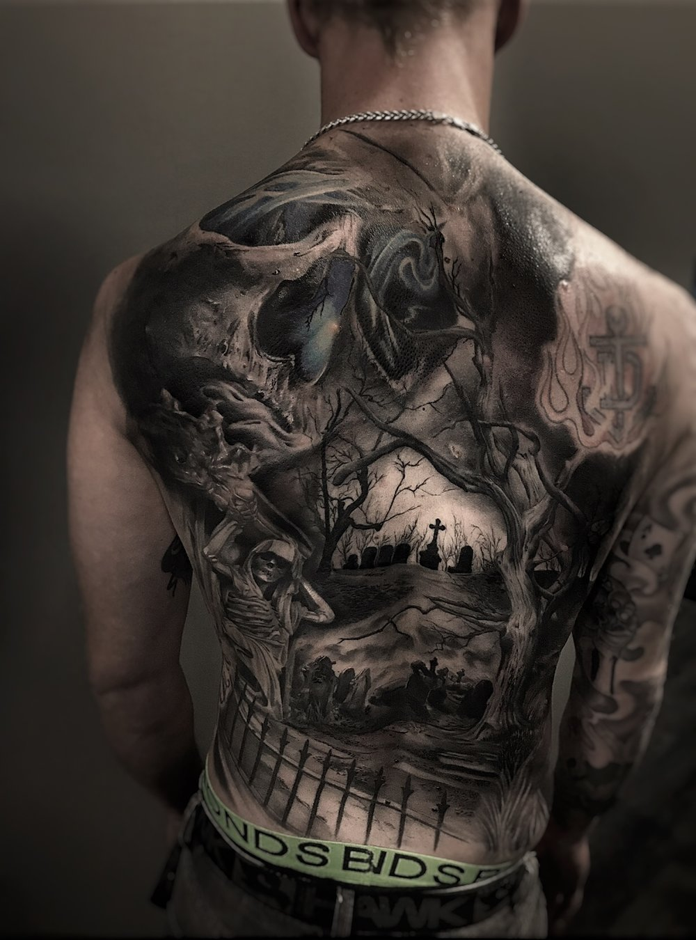 Graveyard Backpiece