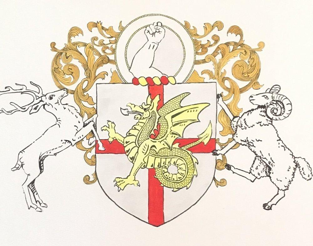 Drake Family Crest