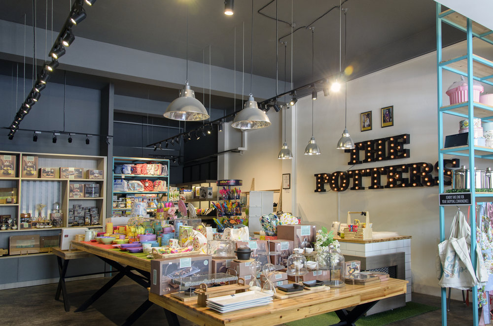 THE POTTERS   Retail - Kitchenware