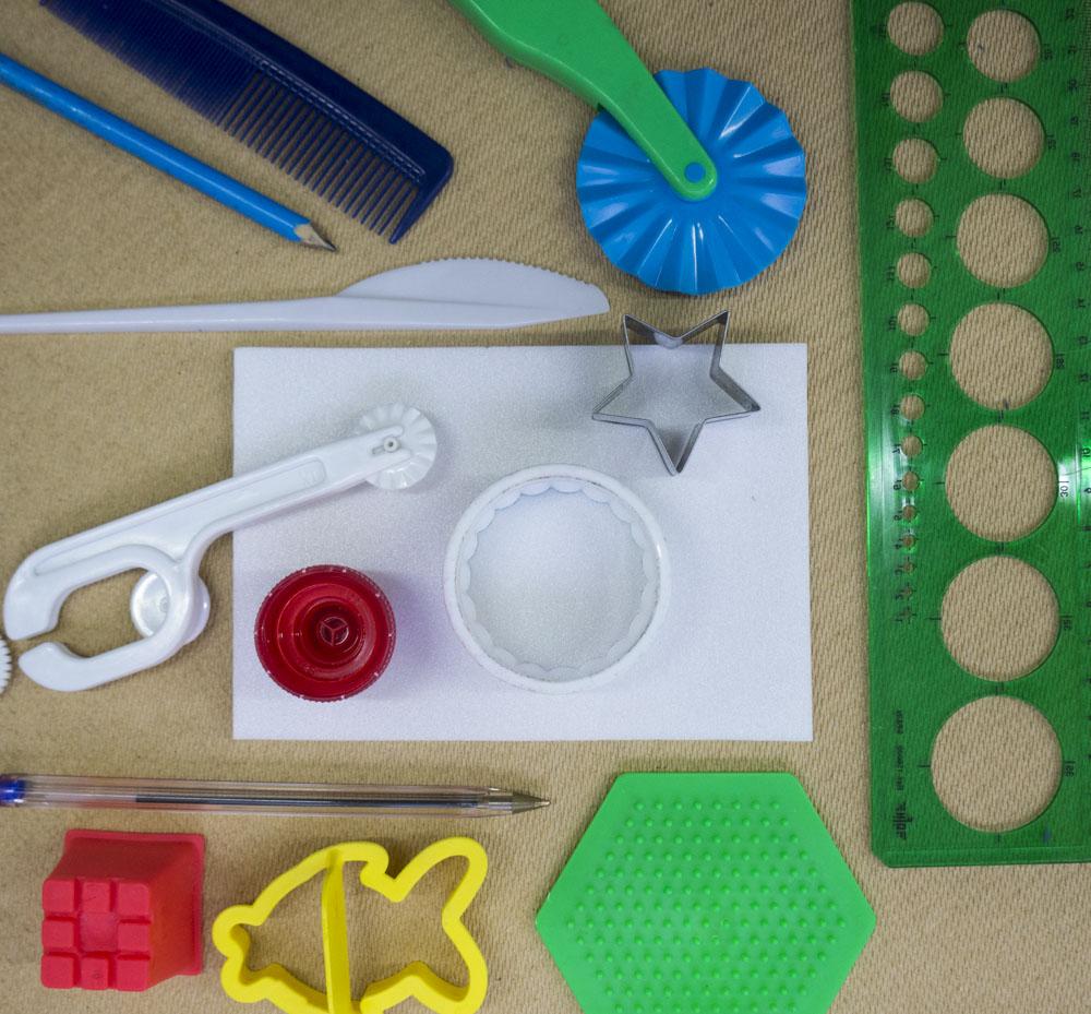 polystyrene tile printing tools