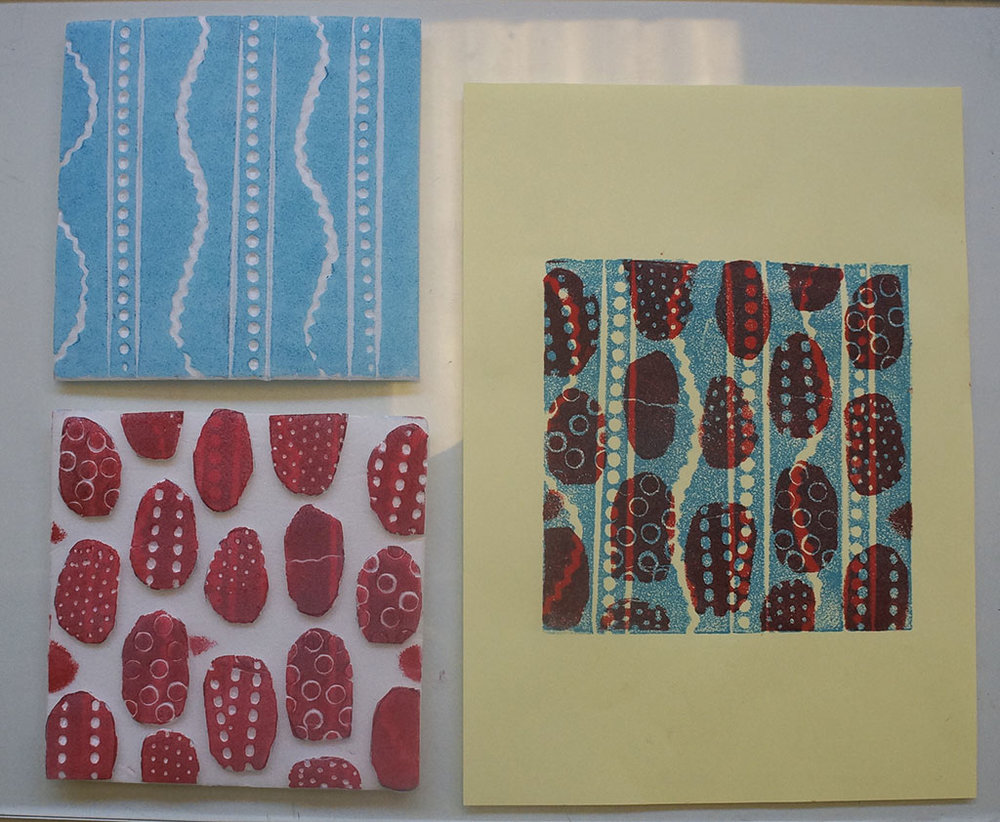 three layer prints