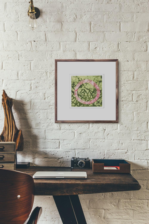 Rotation print framed