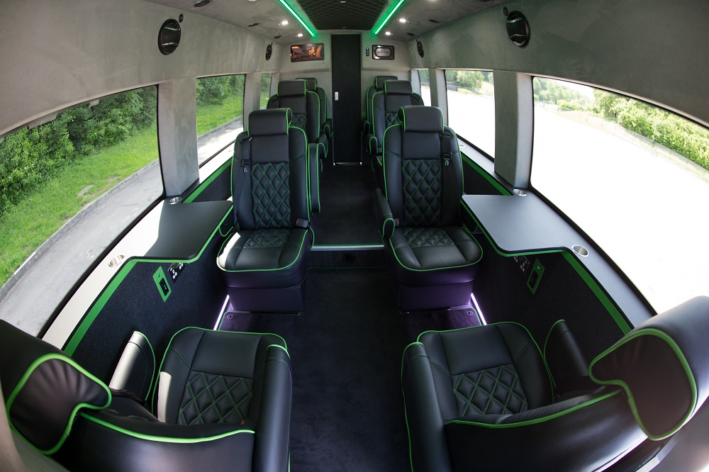 Luxury tour bus