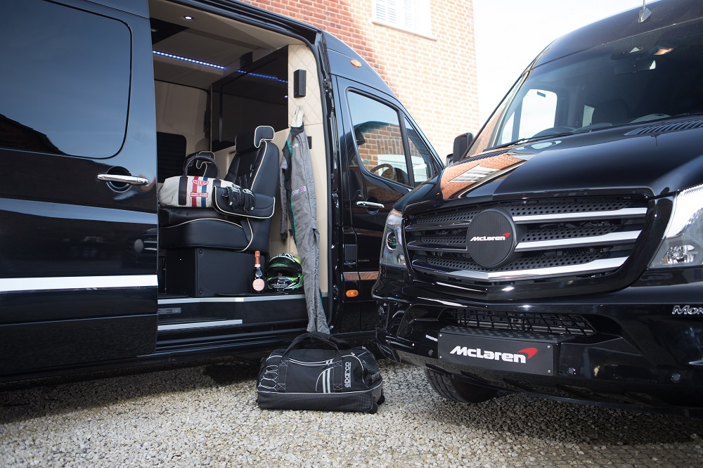 Monaco Mercedes Sprinter ideal for Motorsports