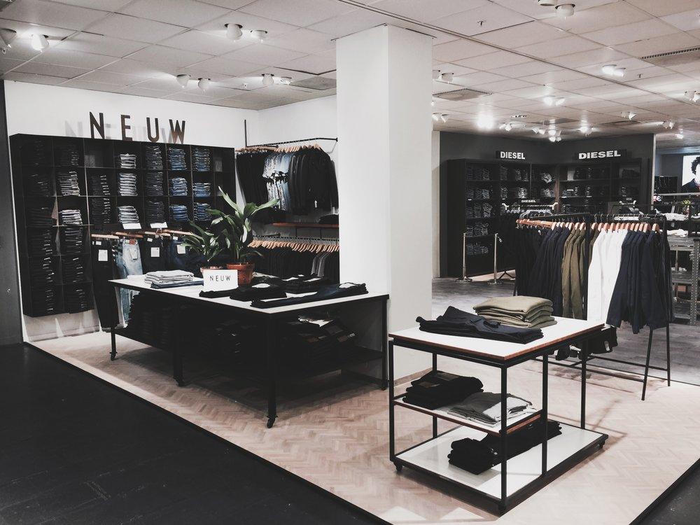 Åhléns Shop-in-Shop, Stockholm  Info