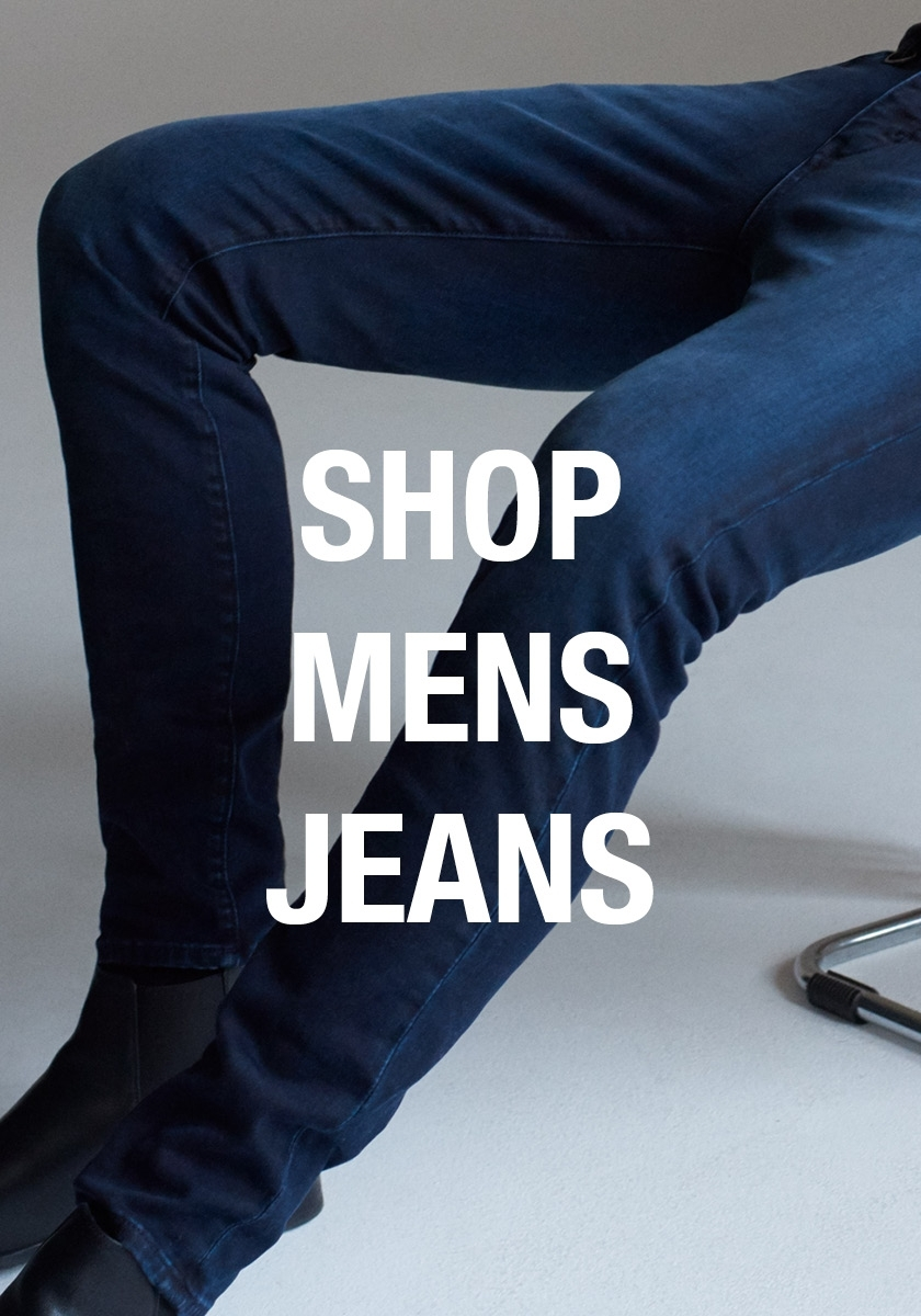 Explore the full range of our mens jeans collection