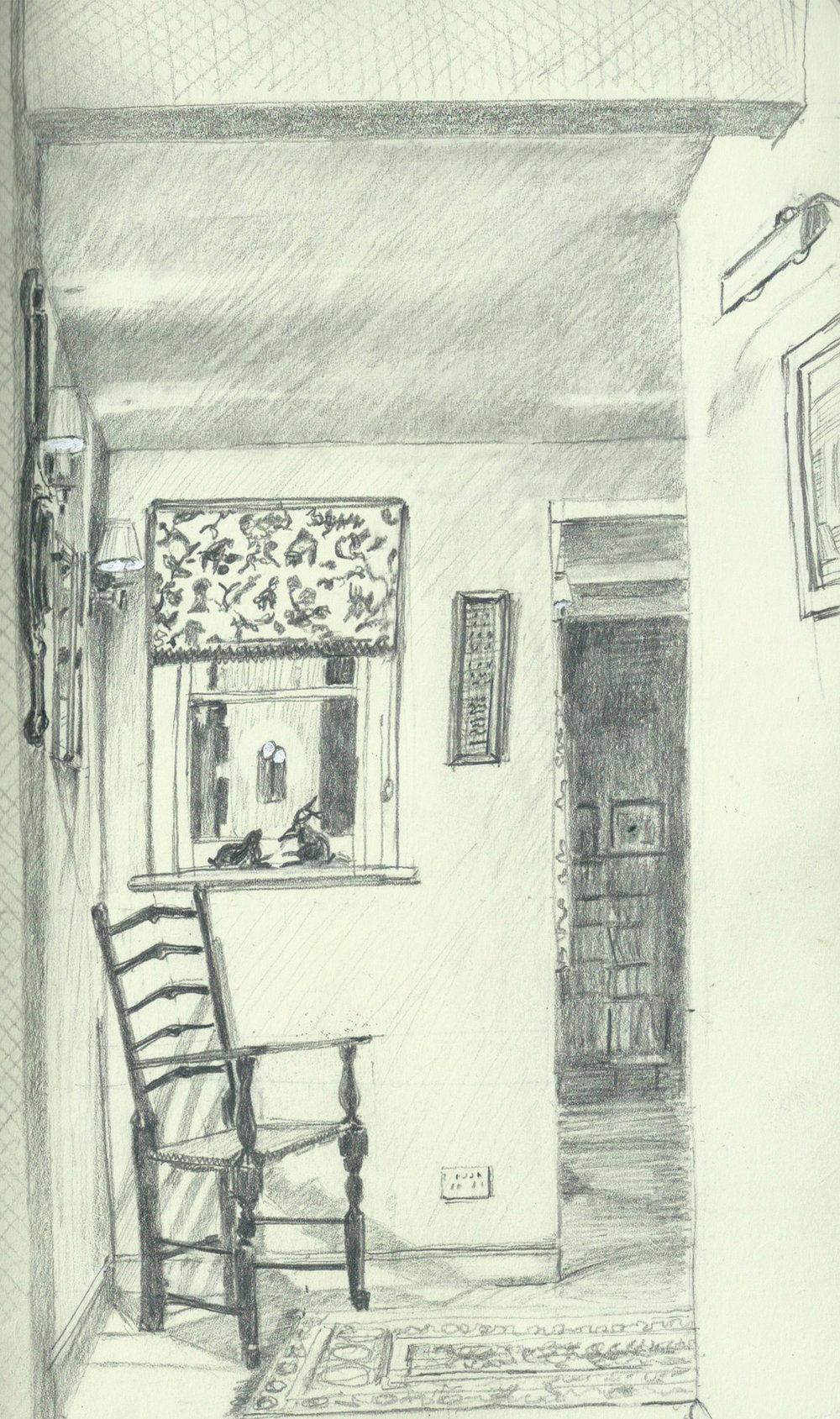 Ladygrove. Hallway.