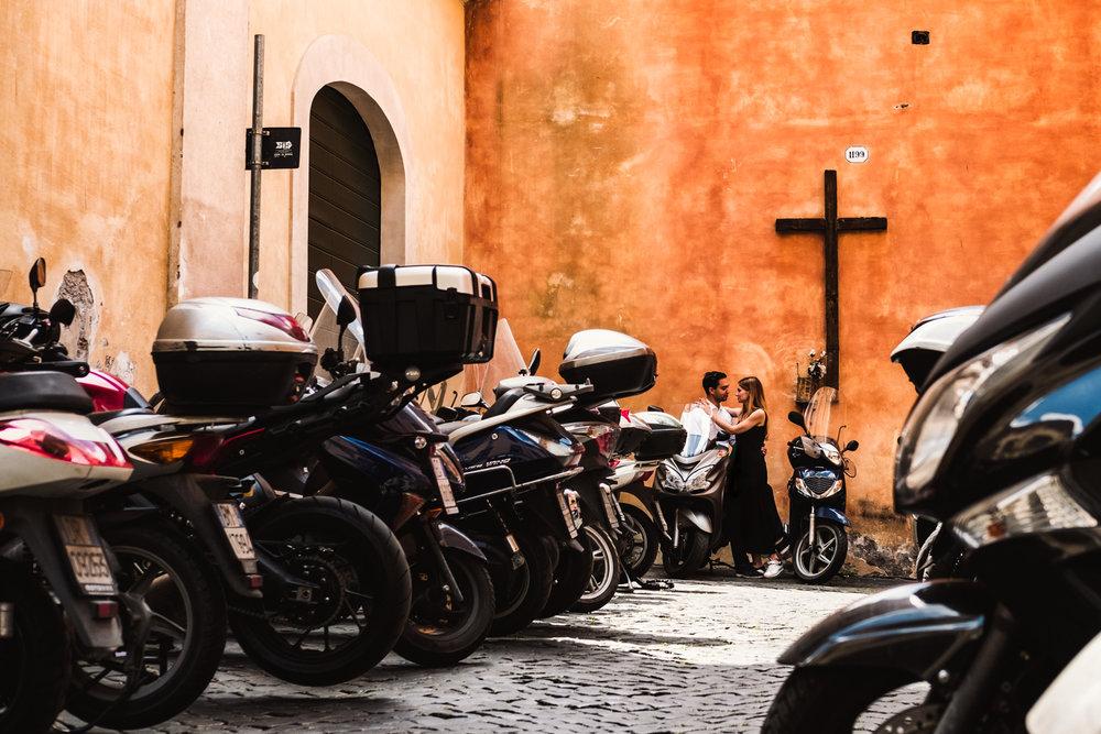 destination wedding photography - rome italy