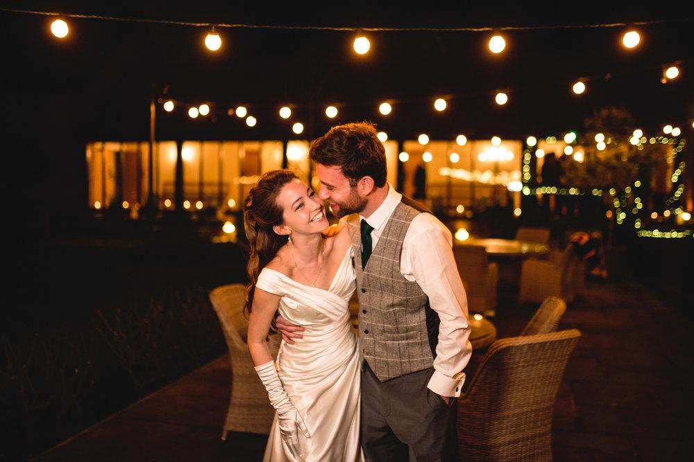 Granary Estates wedding photo - bride and groom