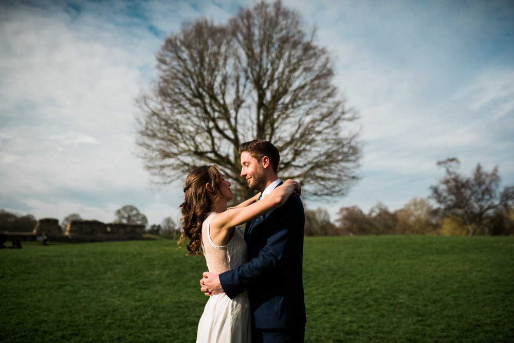 St Albans Wedding - Bride and groom