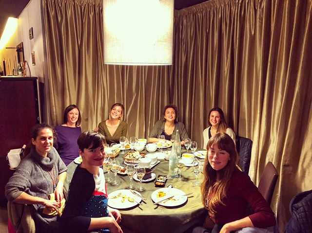 The best Christmas lunch with the most inspiring group of women I could hope to meet - I'm so excited to begin the New Year with you @theyogasanctuary.bcn  Mouth watering lunch @bembibarcelona - thank you for having us!! #ladieswholunch #funtimes #yogaparty #christmas2018 #inspiringwomen #cantwaittostart #theyogasanctuarybcn #newyogacentre #newyogashop #youryogayorstyle