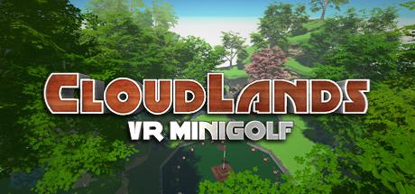 Cloudlands VR Minigolf - Erlebe Minigolf in der virtuellen Welt hoch über den Wolken. Als Einzelspieler- oder Mehrspiele-Erlebnis spielbar.Ab 6 Jahre
