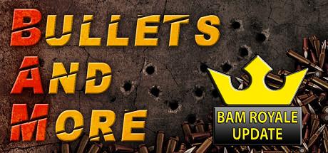 Bullets and More - Springe mitten in die Multiplayer Action hinein und habe Spaß beim schnellen Gameplay. Dabei stehen mehr als 40 Maps und verschiedene Modi zur Verfügung (BAM Royale, Deathmatch, Team Deathmatch, Capture the Flag, Virus Infection, Gun Game und Classic Deathmatch).Ab 18 JahreBis zu 10 Spieler