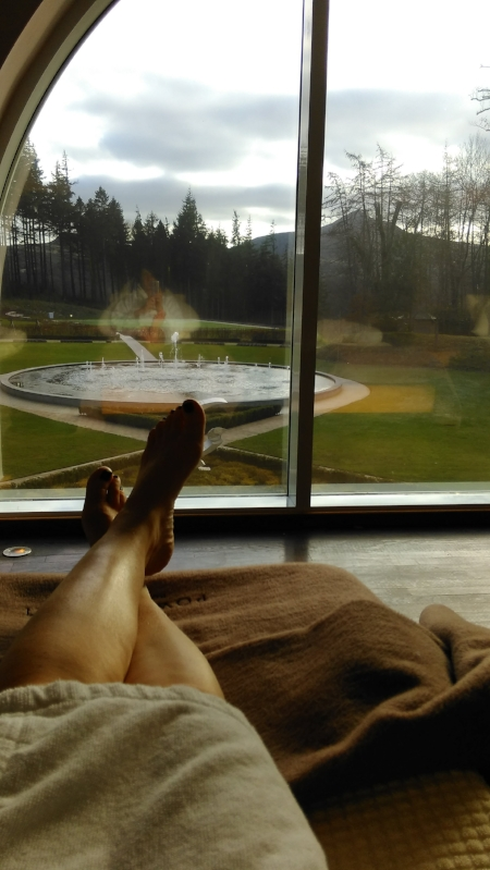 View at Powerscourt Spa