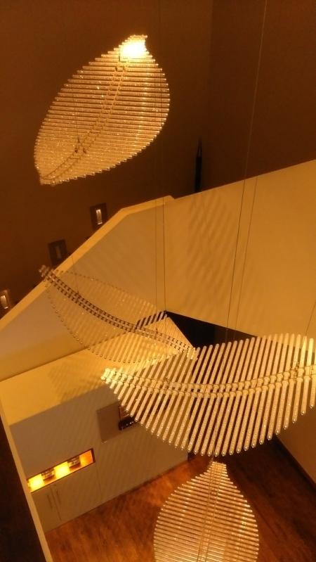 Stunning light -feature- Powersourt Spa