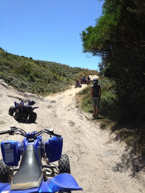 Quad Bike Tracks, Strahan