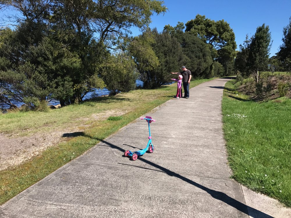 Walking the Strahan Foreshore Track