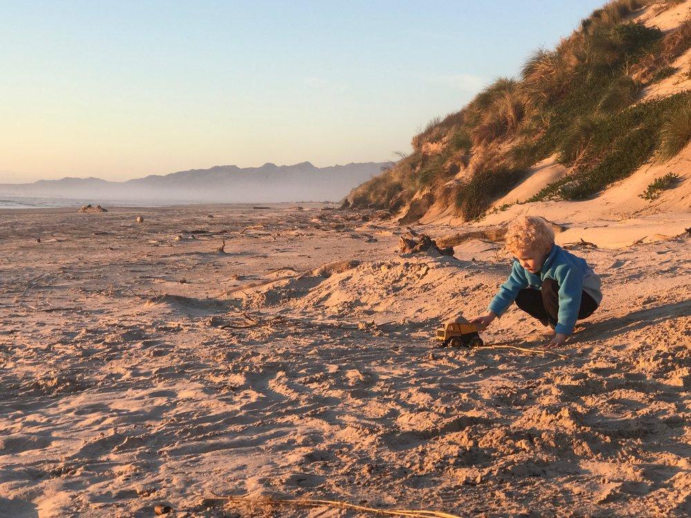 Ocean Beach Tassie4Kids