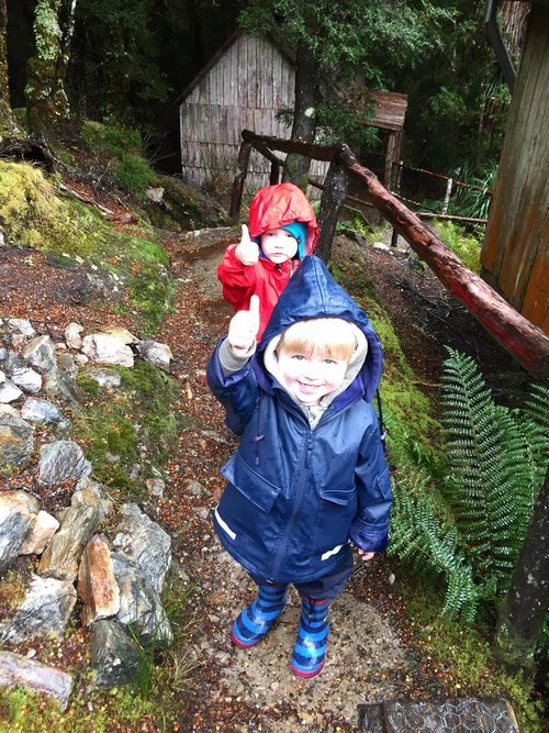 Cradle Mountain in the rain