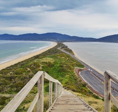 The Neck, Bruny Island.