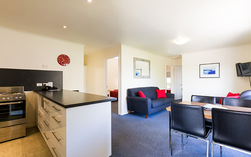 Three bedroom Apartment. Image by Graham Apartments