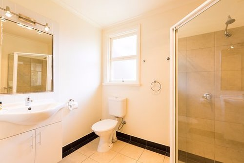 Two Bedroom Apartment - Bathroom Image by Graham Apartments