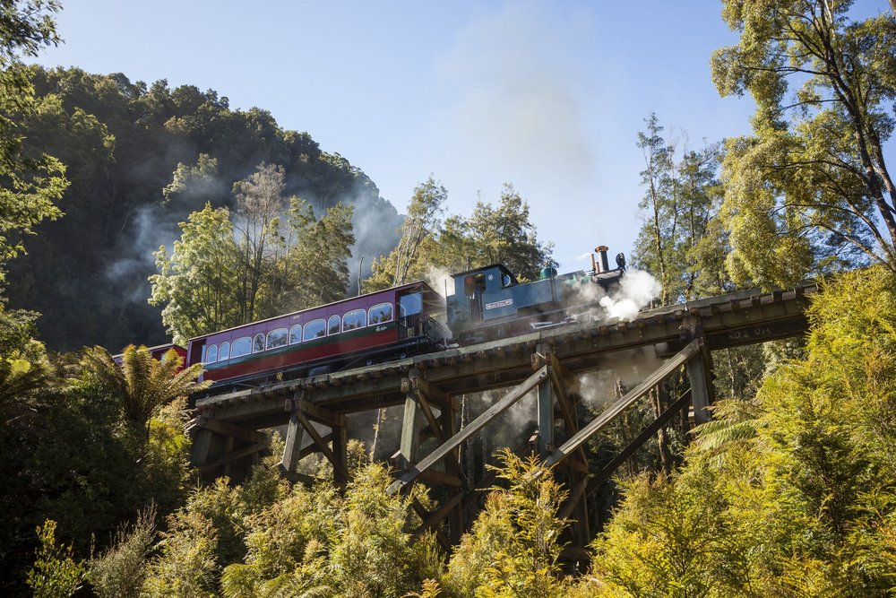 West Coast Wilderness Railway Tassie4Kids