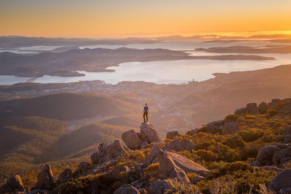 2018 Tassie4Kids Mt Wellington Paul Flemming