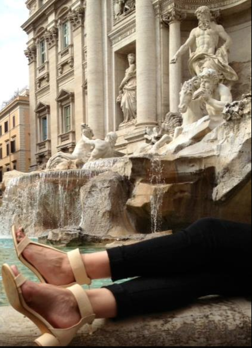 Trevi Fountain, Italy  - With Love, Shaizy Shoes Happy Customer