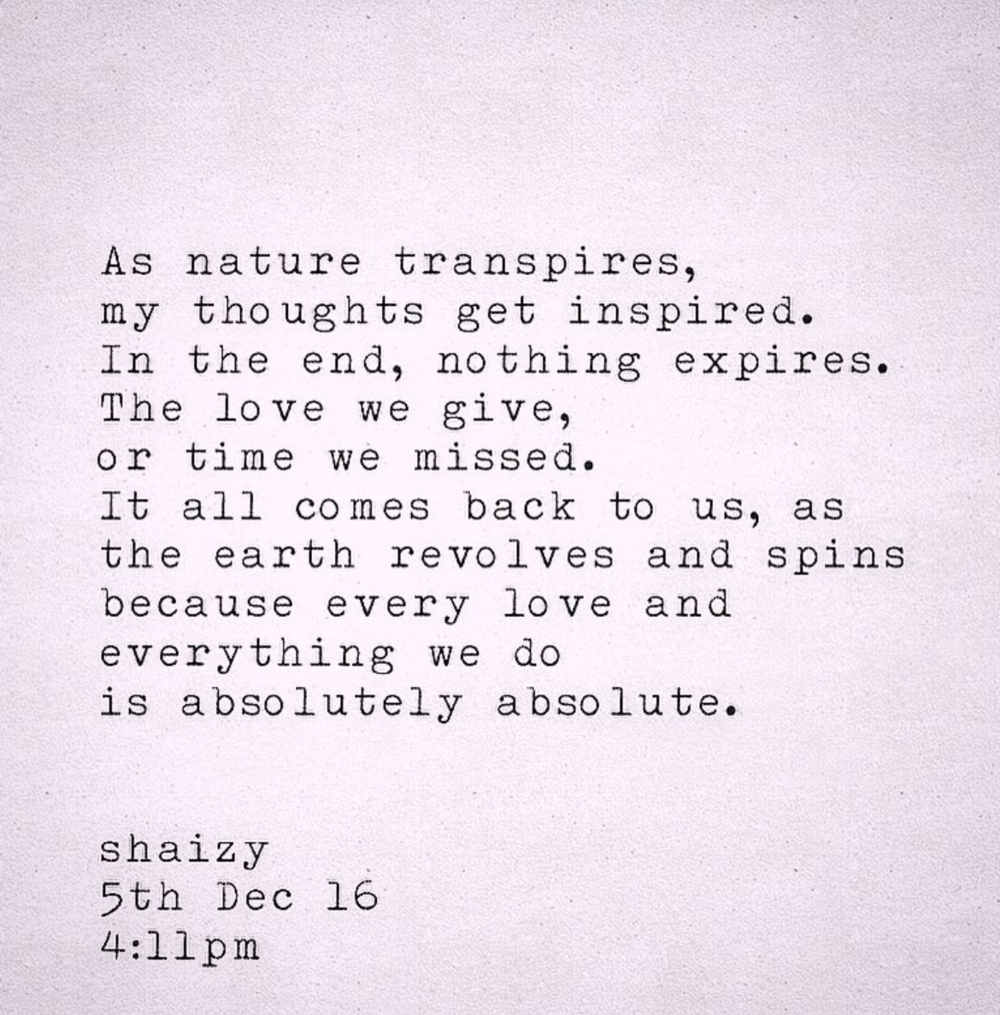 Shaizy nature love poetry.png