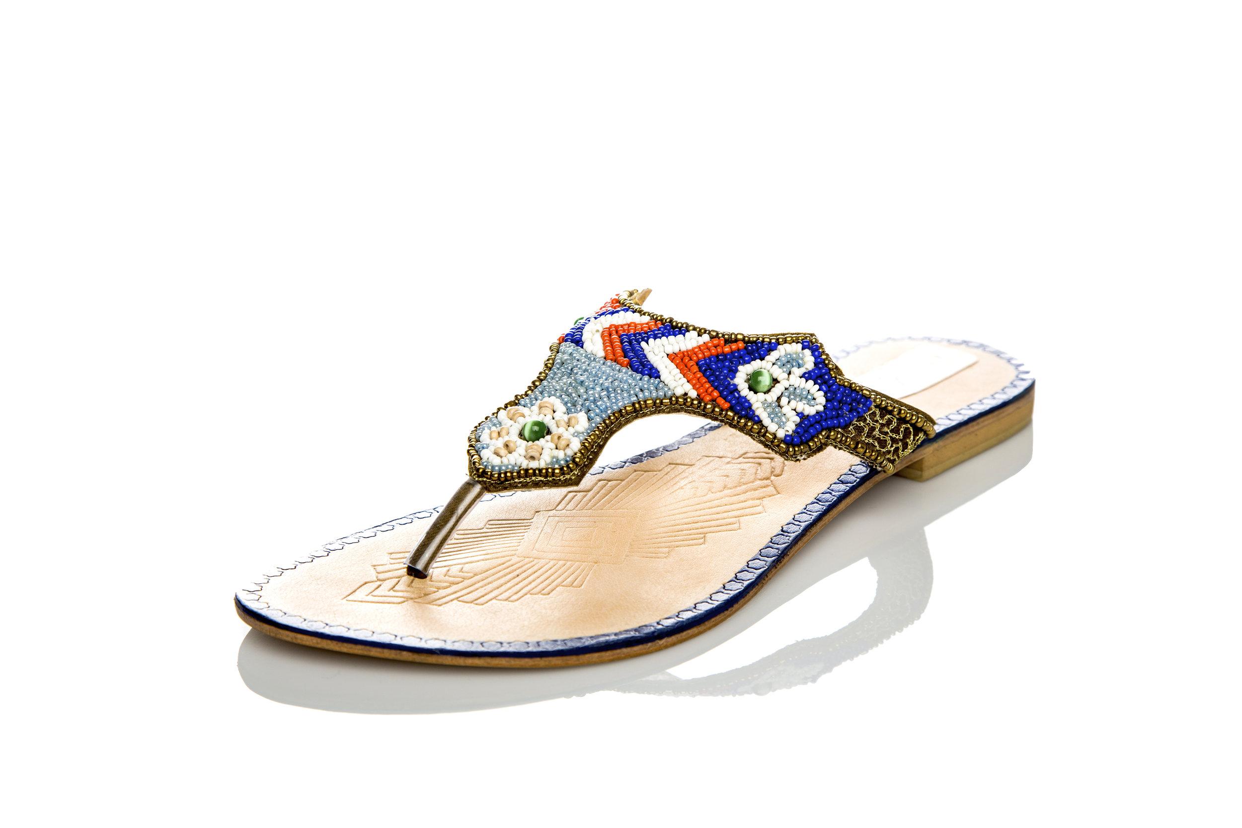 64320efd4 shaizy sy shoes zulu african indian beads beaded shoes beautiful women s  sandals summer beach flip flops