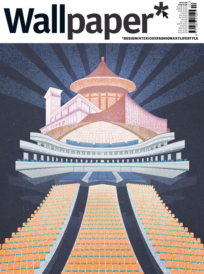 For A Feature In Wallpaper Magazine Guest Edited By Pianist Lang It Depicts Several Of His Favourite Auditoriums
