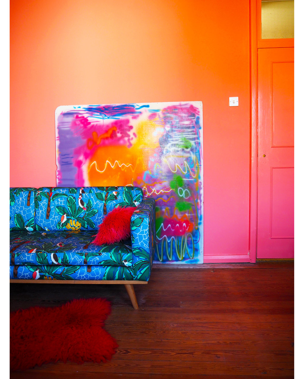 Living Room, Tropical Sofa Door w border.jpg