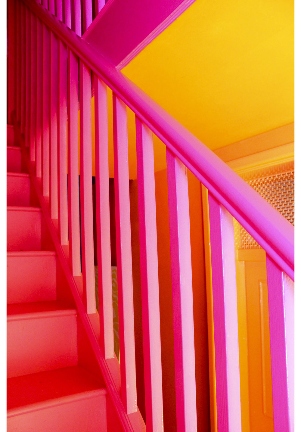 MLH Pink Bannisters Orange Ceiling.jpg