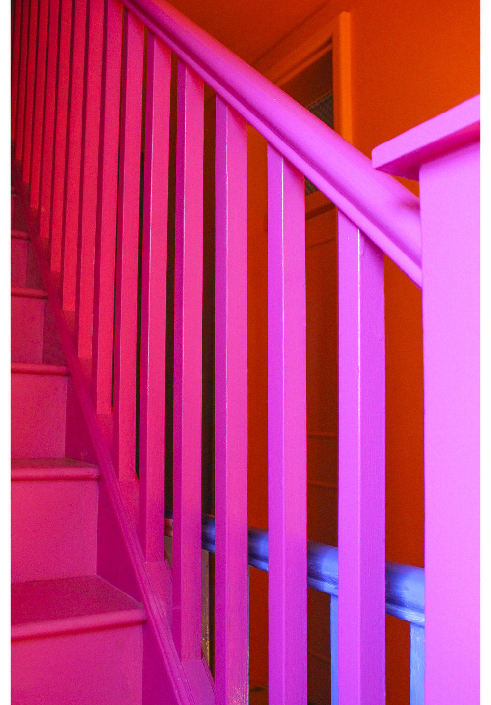 MLH Pink Orange Blue Bannisters.jpg