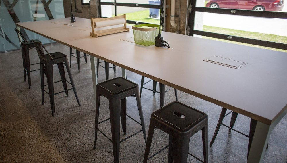 DROP IN -  $150/mo   Our house is your house. Monday through Friday, 8-5, drop in and collaborate with us. You get access to any of the Blueprint Collaborative amenities, space to work at the co-working table, and access to the conference room for any meetings you might have.