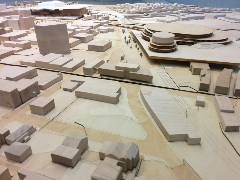 Energy Court Proposal (looking south).