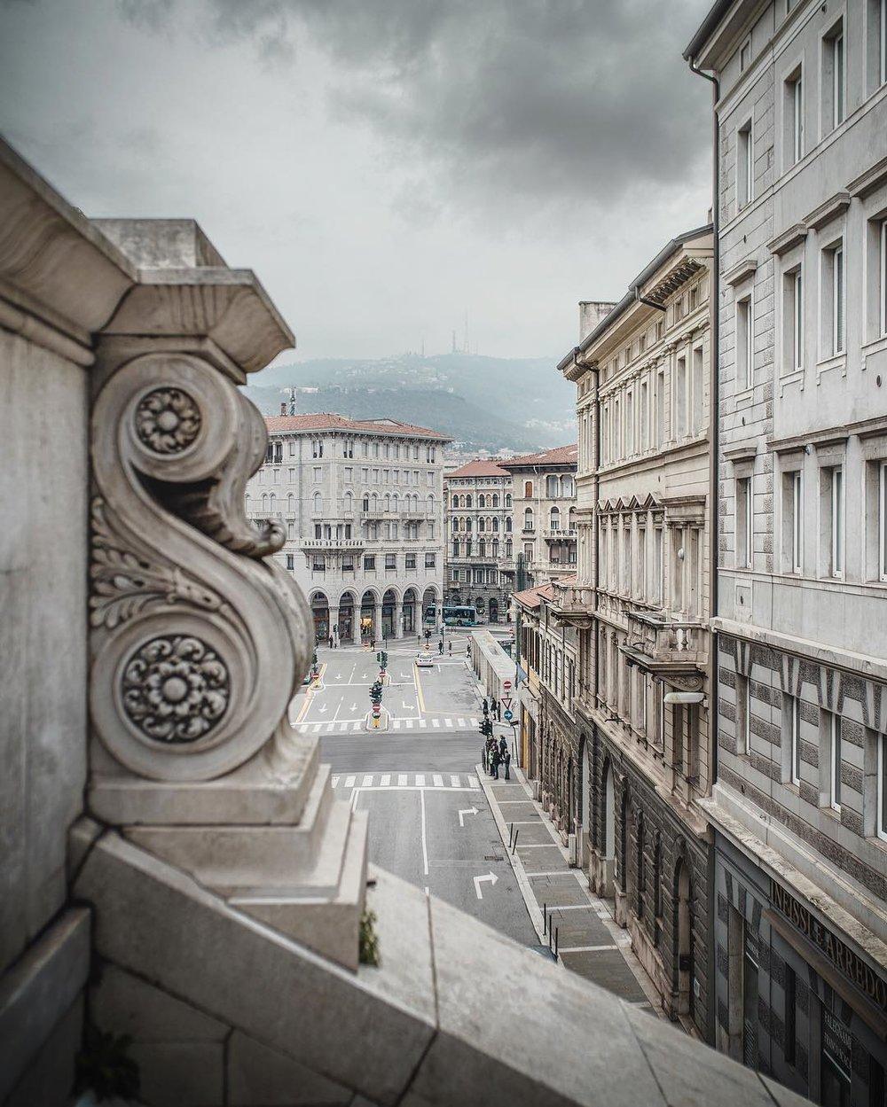 Trieste - Piazza Goldoni